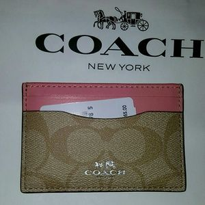 Coach Handbags - Coach Card Case