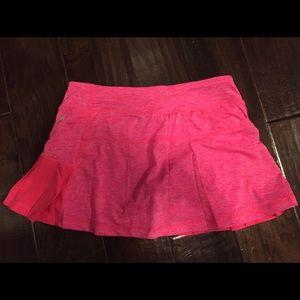 Pink Head tennis skirt
