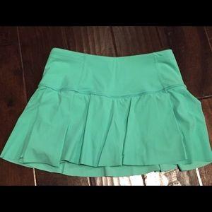Lulu lemon aqua tennis skirt