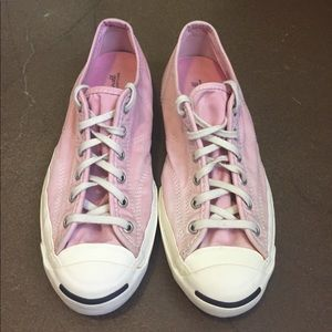 Converse Shoes - Jack Purcell Pink Converse