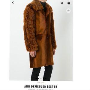 Ann Demeulemeester Other - ANN DEMEULEMEESTER Men's Sheep Fur Jacket.