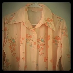 Sears Tops - 1960 Vintage Blouse