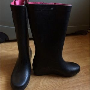Capelli of New York Shoes - Capelli Wedge Rain Boots Size 7