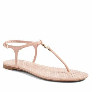 Tory Burch Shoes - Tory Burch Marion Quilted Clay Sandals