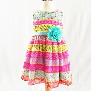 Pretty dress with matching shrug 3T