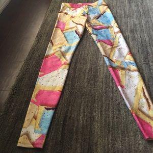 Zara Terez pop tart designed leggings