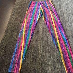 Zara Terez licorice designed leggings