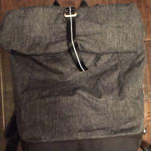Lululemon roll down back pack bag