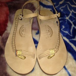 48fe5b07f Shoes - Rainbow sandals Marley side braid buckle sandals