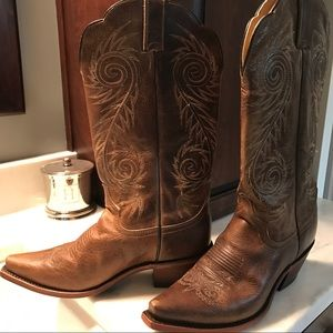 Justin Boots Shoes - JUSTIN BOOTS Tall Shaft Cowboy Boots