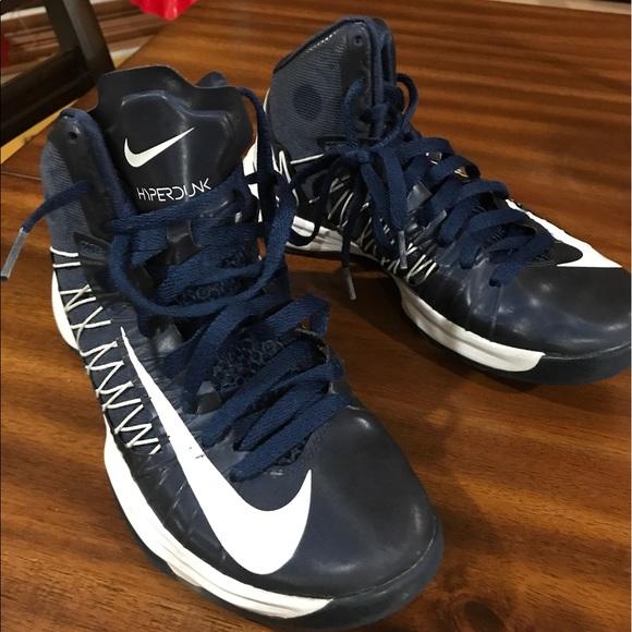a06108b5139 Nike Hyperdunk basketball shoes Blue womens. M 58f7c4d636d5941d5b004896