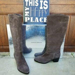 Sigerson Morrison Shoes - Beautiful Sigerson Morrison Grey Suede Boots