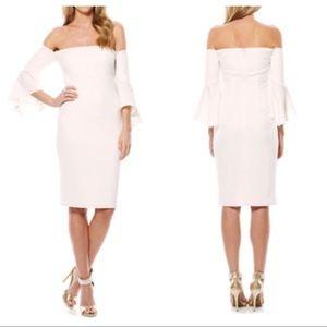 LAUNDRY BY SHELLI SEGAL Crepe Short Dress 2