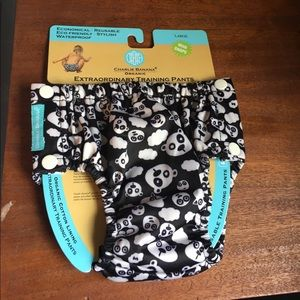 Charlie Banana Other - new organic training pants with bears