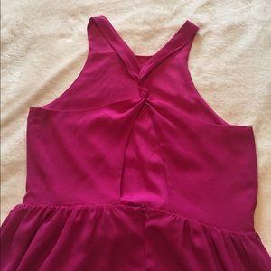 Forever 21 Dresses - ADORABLE fuschia dress size M