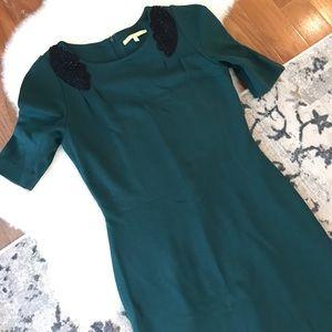 Gianni Bini Dresses - Forest green mini dress