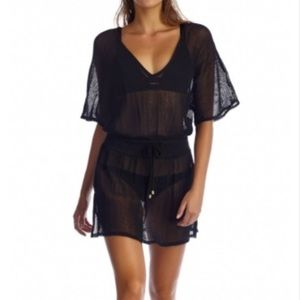 vitamin a Other - NWT vitamin A Lucette plunge tunic cover up black