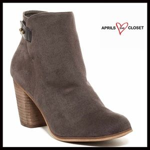 Abound Shoes - ❗️1-HOUR SALE❗️VEGAN SUEDE ANKLE BOOTS