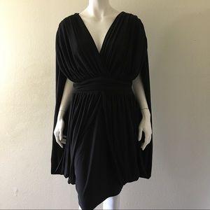 Monif C. Dresses & Skirts - Monif C Shirred Draped Evening Cocktail Dress