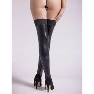 Accessories - BRAND NEW wet look black thigh highs