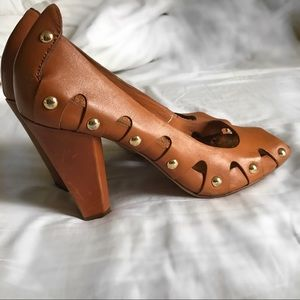 Vince Camuto Shoes - Open Toe Vince Camuto Studded Heels