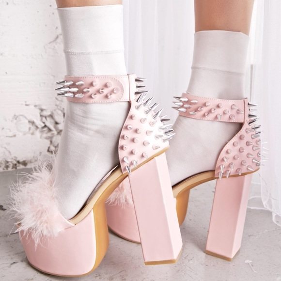 Sugarbaby Shoes Rock Garden Pink Spike