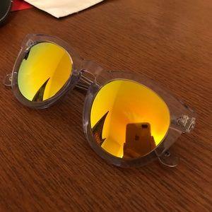 Diff Eyewear Accessories - DIFF sunglasses gold lenses