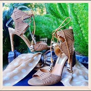Dolce Vita Shoes - Dolce Vita Lace-up Tassel Heels