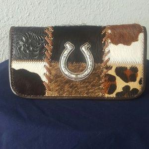 American West Handbags - American West Hair-On Wallet