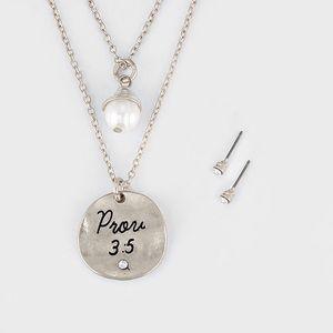 Goodchic Jewelry -  SOLD  Proverbs Layered