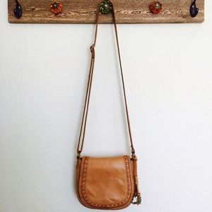 Lucky Brand Small Leather Crossbody Purse