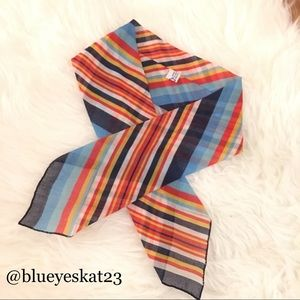 Vintage Multi-colored Scarf