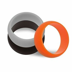 Accessories - Brand New Set of 3 Mens Silicon Wedding Bands