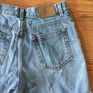 Calvin Klein Pants - High waisted Vintage Calvin Klein jean shorts.