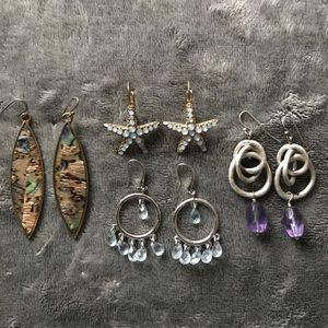 Francesca's Collections Jewelry - Seaside Earring Bundle