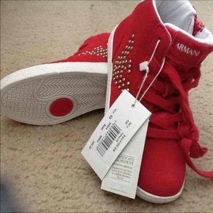 Armani Junior boys shoes