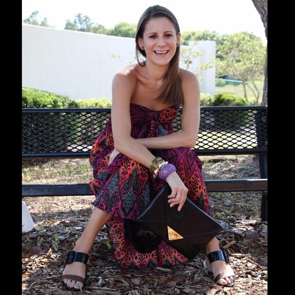 Xhilaration Dresses & Skirts - Patterned maxi dress