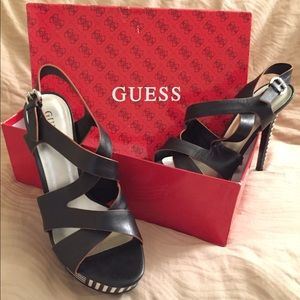 Guess Shoes - Guess Women's Dante Platform Criss Cross Pump