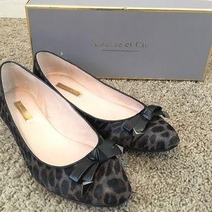 "Louise et Cie Shoes - Louise et Cie ""Azalya"" Calf Hair Flat - Sz 8M"