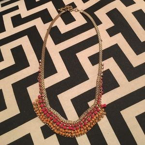 Beaded Small Statement Necklace