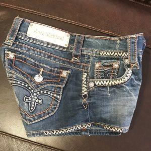 Rock Revival Pants - Rock Revival Shorts - Size 25 - 2 Inch Inseam