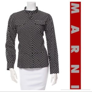 Marni Tops - Marni Long Sleeve Button Up Top