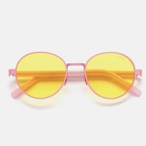 "RetroSuperFuture Accessories - Retrosuperfuture ""Ginza"" pink matte sunglasses"