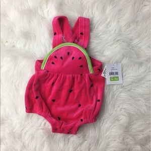 letop Other - Infant Watermelon one piece