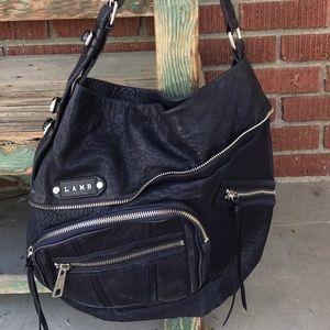L.A.M.B. Handbags - L.A.M.B. Corsaire Seville Leather Hobo