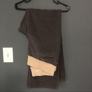 GAP Pants - Gap maternity but cut corduroy pants gray