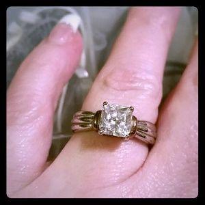 Jewelry - QVC Diamonique ring