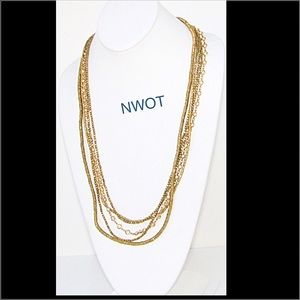 Heather Gardner Jewelry - NWOT Heather Gardner / Tiger Lily Necklace