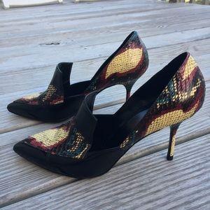 Pierre Hardy Shoes - Pierre Hardy Snakeskin Heels