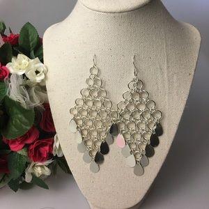 Jewelry - Diamond Shape Layered Earring